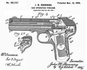 Pistolet Browning 1900