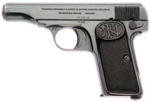 Le pistolet Browning 1910