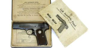 Le pistolet FN/COLT 1903.