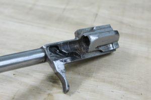 Kalasnikoff, AK 47, bolt handle, bad finished