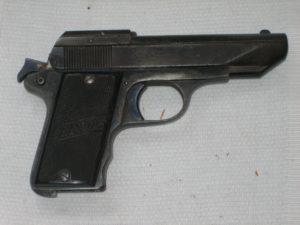 Le pistolet Lepage mle 1924